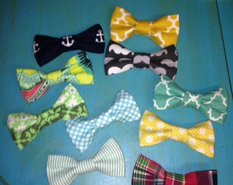 Little boy BOWTIES, with band or clip