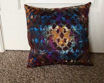 Colorful throw pillow cover