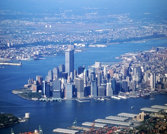 Aerial View Of Manhattan Fine Art Photography Wall Photo