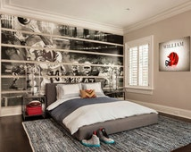 Popular items for bengals decor on etsy for Bengals bedroom ideas