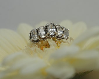 CZ Dome Ring