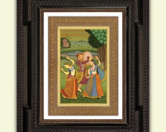 Indian reproduction Mughal Luxury Print,A3 satin 285gsm Paper No2