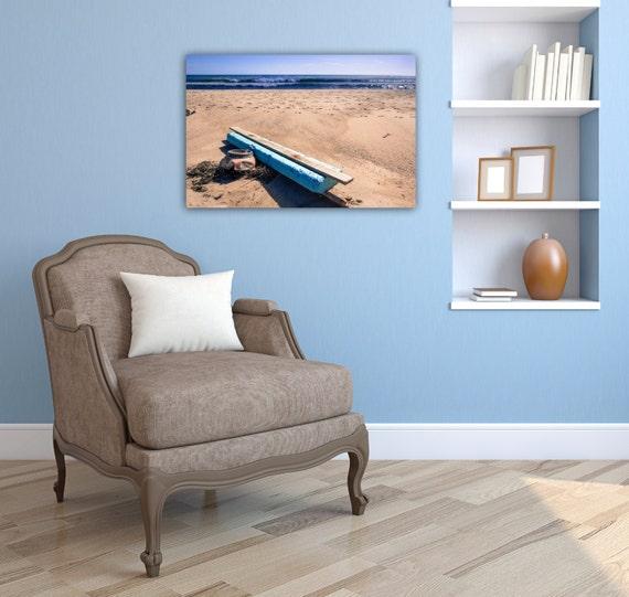 Nantucket print nautical decor wood wall art seascape for Nantucket decor