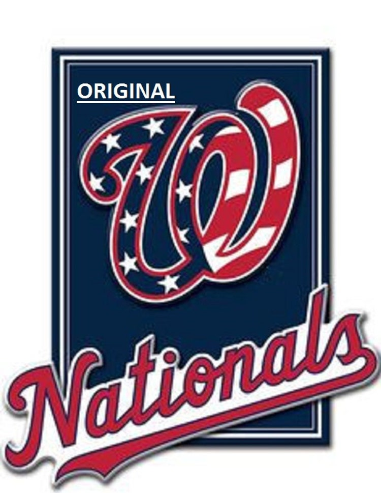 Washington Nationals Baseball Counted By Beadedbirdxstitch