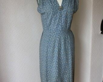 Stunning Vintage 1940s Tea Dress Size 10/12