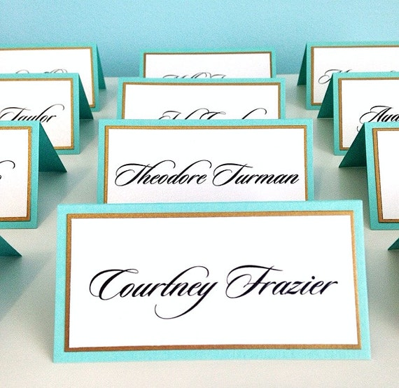 Escort Cards Place Cards Seating Charts
