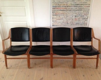 Ax Chairs - Peter Hvidt And Olra Mølgaard-nielsen By Fritz Hansen - 1950s Danish Vintage Furniture - Mid Century Chairs