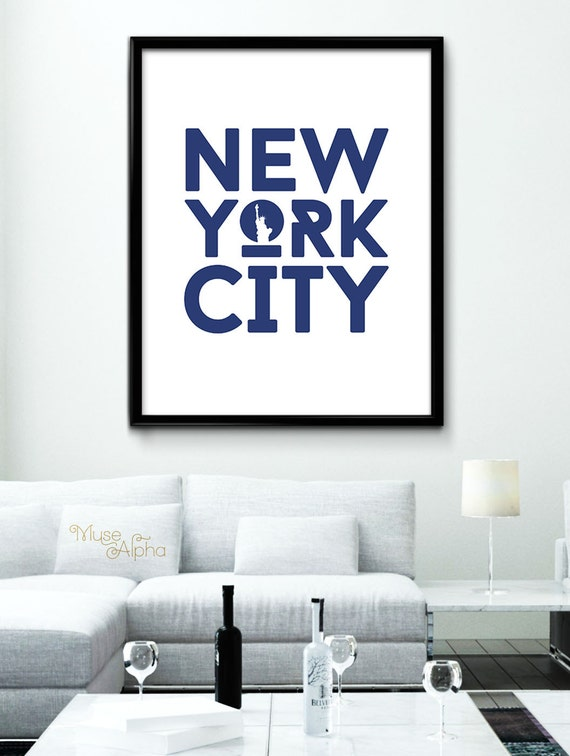 Items similar to new york home decor new york city modern for Home decor new york