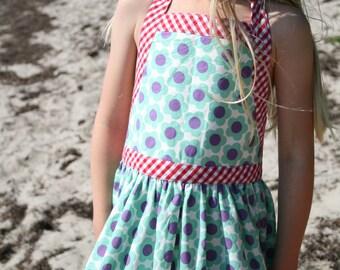Sweet summer dress/dress or skirt with flowers