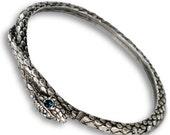 Snake Bangle, Snake Bracelet, Serpent Bracelet, Snake Jewelry, Stacking Bangles, Snake, Southwest Bracelet, Bangle Bracelet, Serpent BR300