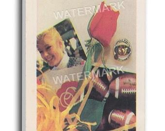 1987 Rose Bowl Canvas Mega Ticket - Arizona State Sun Devils