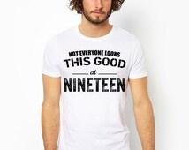 19th birthday, 19th birthday gift, 1996, 19th birthday shirt, party, 19 year old birthday, 19 and fabulous, gift ideas, unisex, men, women
