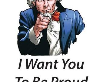 Be Proud Card, Gay Pride Card, Lesbian Pride Card, Pride Card,  Humor Pride Card,     ****VMCL1002