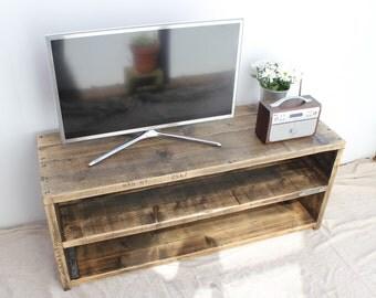FREDERICK | Reclaimed Wood TV Stand - Handmade & Bespoke