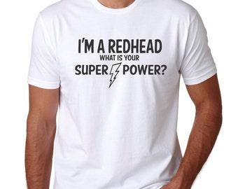 Redhead, redhead shirt, mens funny tshirt, funny tshirts, personalized mens, mens gift, red hair dont care, red hair, personalized womens