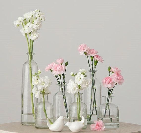 floreros vidrio