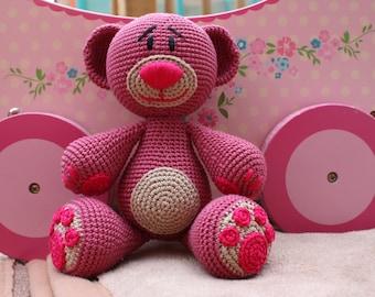 Amigurumi Teddy Bear, Teddy Bear Toy, Baby Shower Gift, Unique Birthday Gift