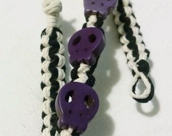 Colored Skull Bracelet