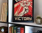 League of Legends Communist Propaganda Warding Poster