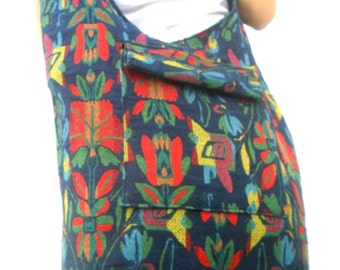 Shoulder Bag Sling Thai Hippie Hobo Everyday Bag Hobo Crossbody Bag Boho Bohemian Bag Purse Multi Color Messenger Sling Gift Bag