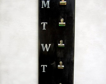 Menu Board with Clips
