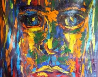 "48"" x 72"" ""Wilderness"" Original Fine Art Acrylic Painting"