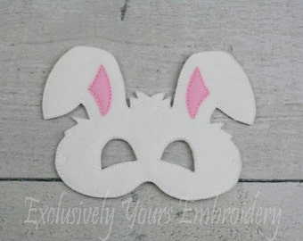 Bunny Children's Mask  - Costume - Theater - Dress Up - Halloween - Face Mask - Pretend Play - Party Favor