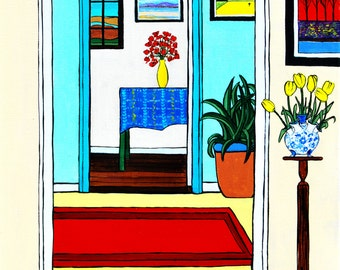 A Room with a View (Print)
