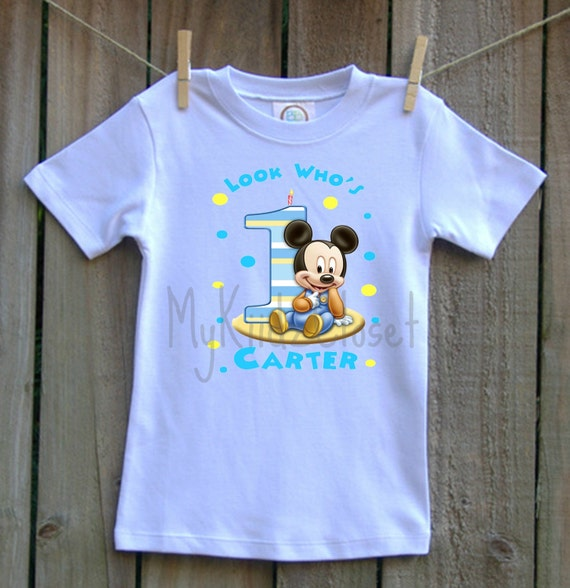 Make your little one's birthday extra special with anyone of our personalized products. We carry Mickey Mouse Clubhouse Personalized Birthday t shirts, Party Favors, Stickers, and Invitations.