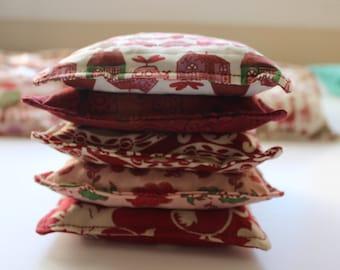 Red Bean Bags (Set of 5)