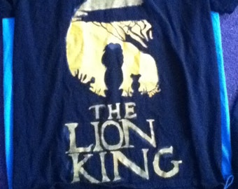 Custom made Lion King Shirt