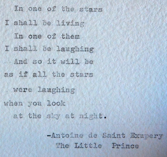 8 Antoine De Saint Exupery Quotes From The Little Prince: Framed Little Prince Quotes Antoine De Saint By Photoplasticon