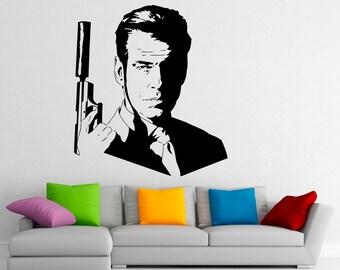 James Bond Sticker Etsy - Vinyl stickers design