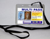 Leeloo - The Fifth Element Multi Pass I.D Card Lanyard