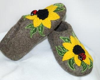 """Sneaker felt """"Sunflower"""""""