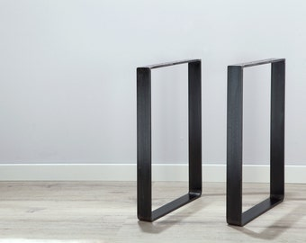 Legs for stool, table, bench made of raw steel