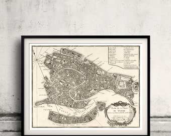 Map of Venice - 1764 - SKU 0275