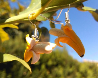 Banana earrings Realistic Fake Food plane-tree plantain Kawaii