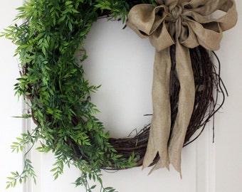 Wreath | Grapevine Wreath | Everyday Wreath