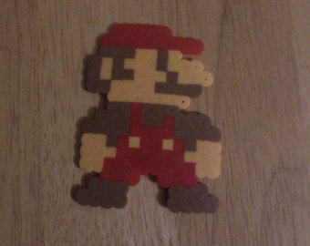 Nintendo Mario Perler Bead Magnet
