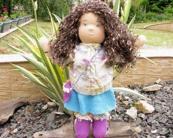 Waldorf Doll, Organic Doll, Handmade