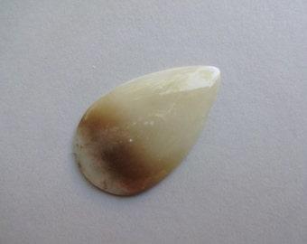 Jade Nephrite cabochon 51x31 mm