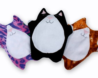 Cute kitty heat pad, comforting heat
