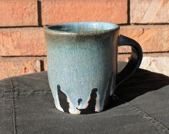 Small Black and Blue Mug