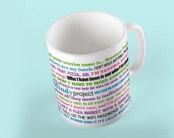 Coffee Mug The Mindy Project - TV Show - Funny Quotes Mug