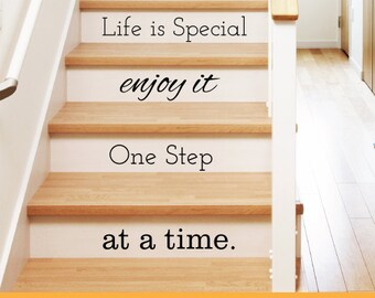 Life Is Special |Home Nursery Office | Removable Wall Decal Sticker | MS178VC