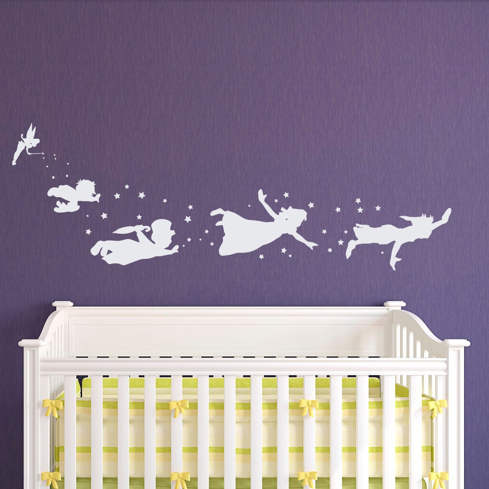 Peter pan children flying silhouette fantasy fairytale magic zoom amipublicfo Gallery