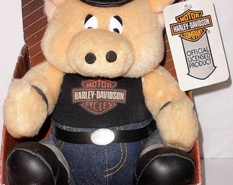 1992 Play By Play Plush Harley Hog Officially Licensed By Harley Davidson NEW  ~Free Shipping~