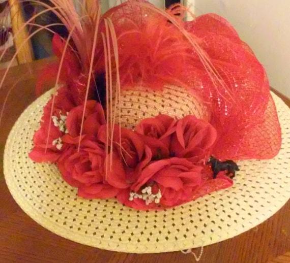Fun Kentucky Derby Hat: Fun Kentucky Derby Hat By Shingdig On Etsy