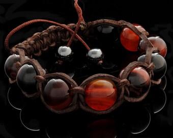 """Men's Bracelet """"bull's eye"""""""